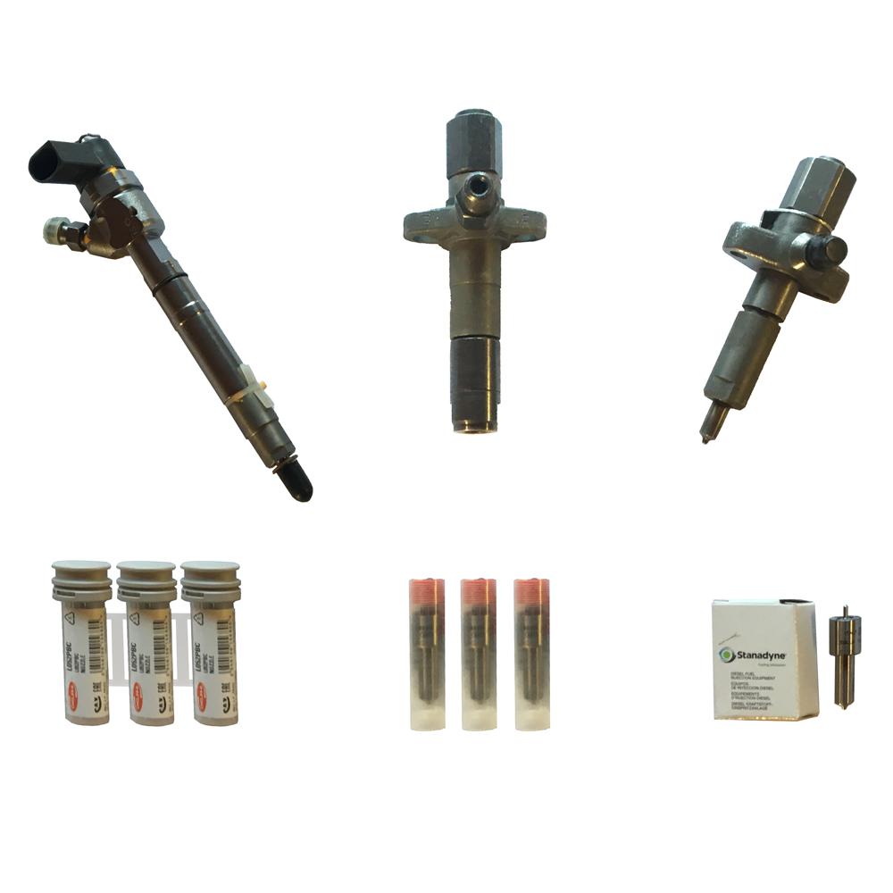 Bild på produkter som glödstift och spridare på hemsidan från H. Nygren Diesel Import AB