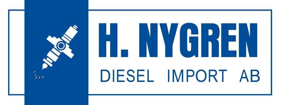 Bild på logotyp för HN Diesel på hemsidan från H. Nygren Diesel Import AB